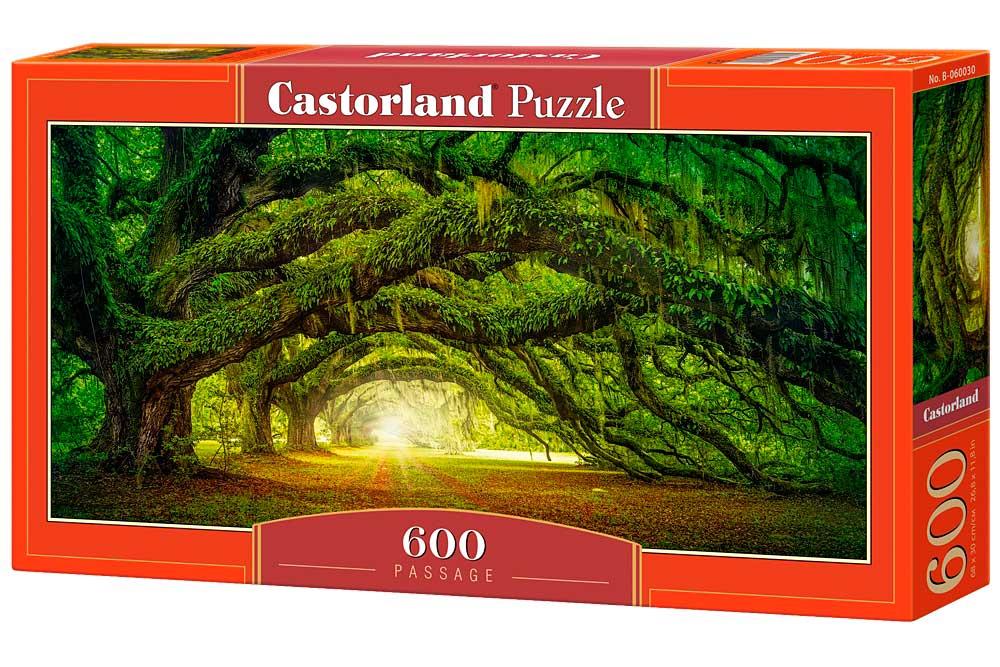 Puzzle Castorland El Pasaje de 600 Piezas