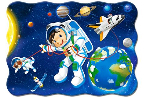 Puzzle Castorland Paseo Espacial de 30 Piezas