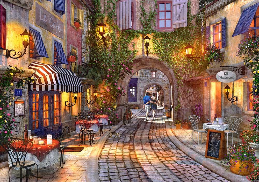 Puzzle Castorland Paseo Francés de 500 Piezas
