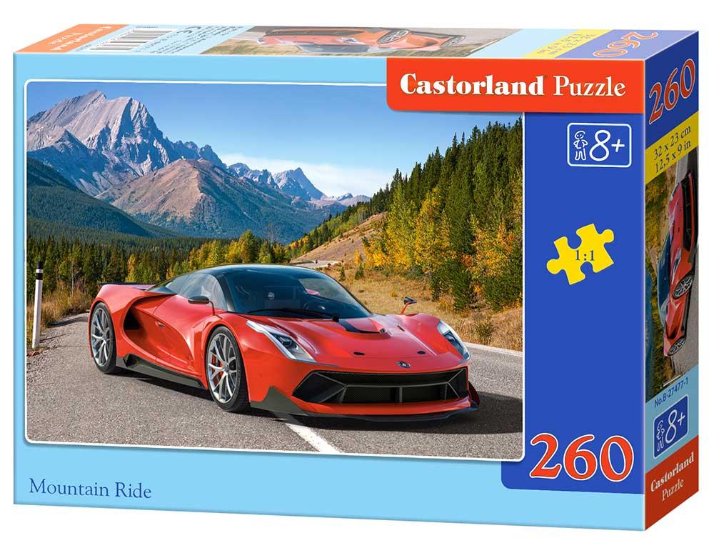 Puzzle Castorland Paseo Por La Montaña de 260 Piezas