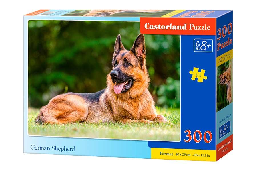 Puzzle Castorland Pastor Alemán de 300 Piezas