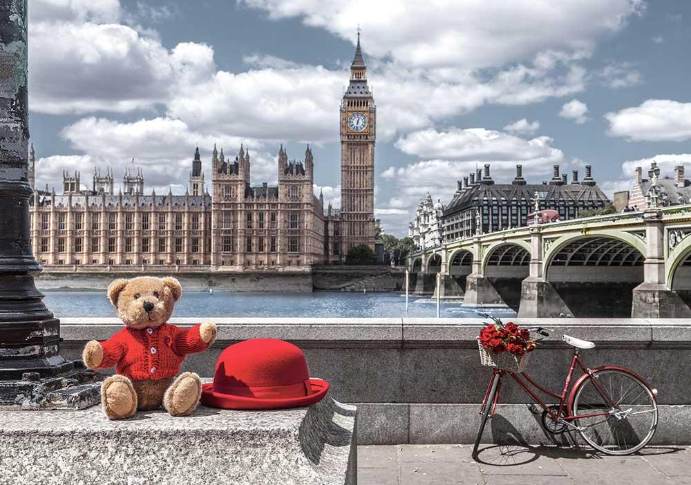 Puzzle Castorland Pequeño Viaje a Londres de 500 Piezas