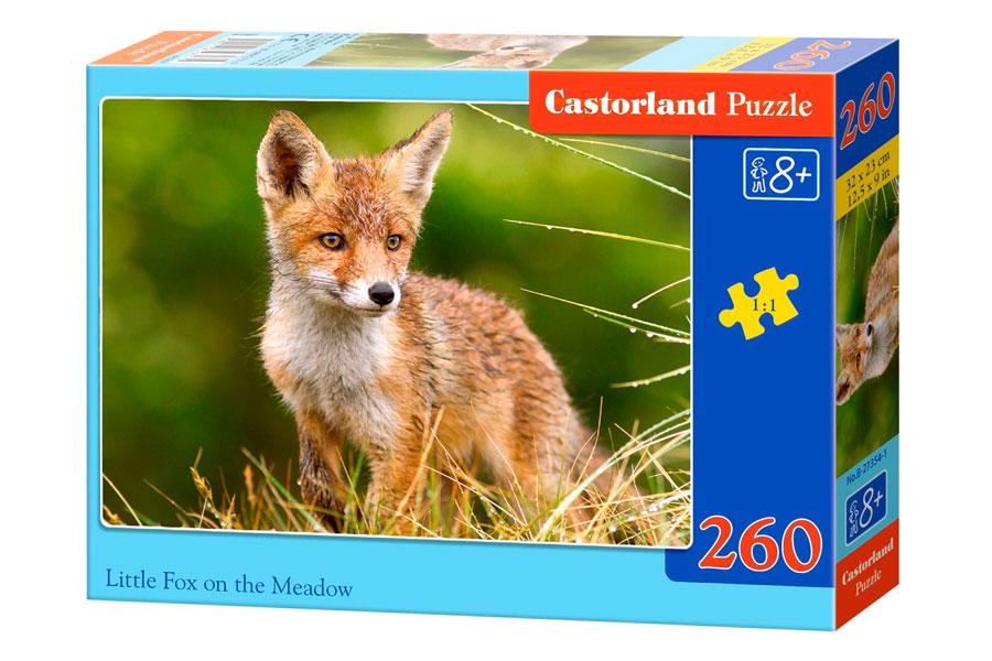 Puzzle Castorland Pequeño Zorro en el Prado de 260 Piezas