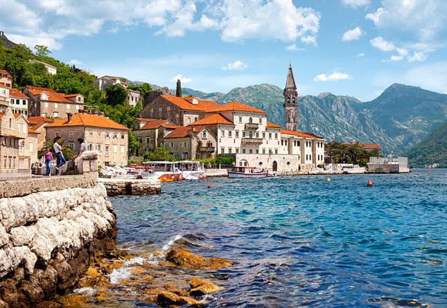 Puzzle Castorland Perast, Montenegro de 1000 Piezas