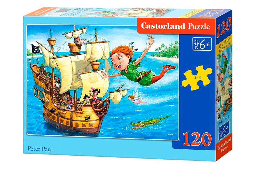 Puzzle Castorland Peter Pan 120 Piezas