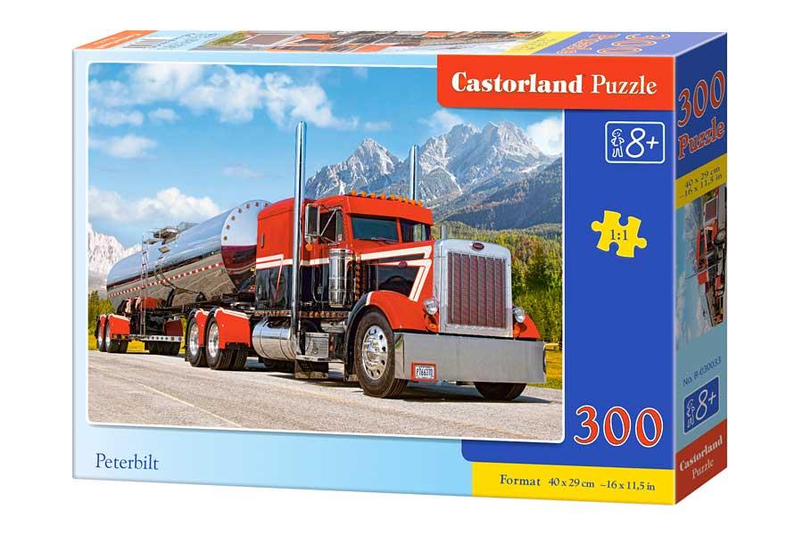 Puzzle Castorland Camión Peterbilt de 300 Piezas