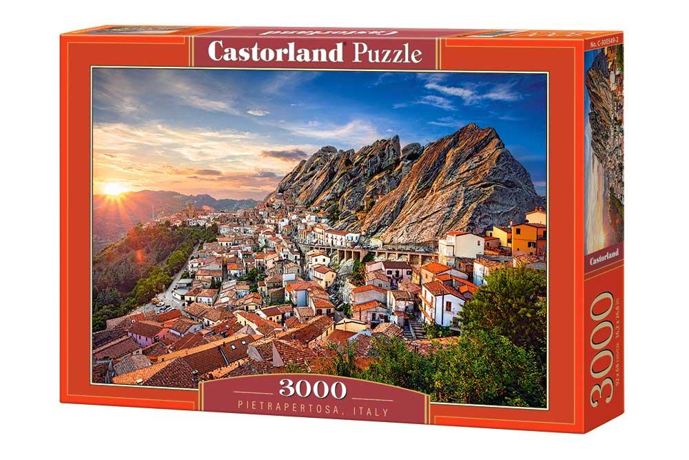 Puzzle Castorland Pietrapertosa, Italia de 3000 Piezas