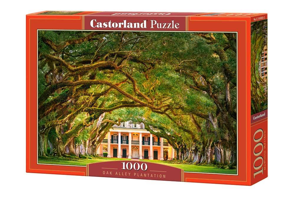 Puzzle Castorland Plantación del Paseo de Robles de 1000 Piezas