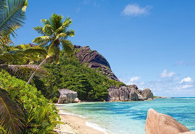 Puzzle Castorland Playa Tropical, Seychelles de 3000 Piezas