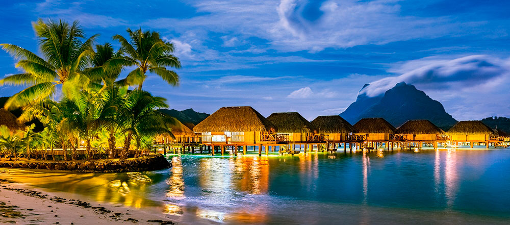Puzzle Castorland Polinesia Francesa de 600 Pzs