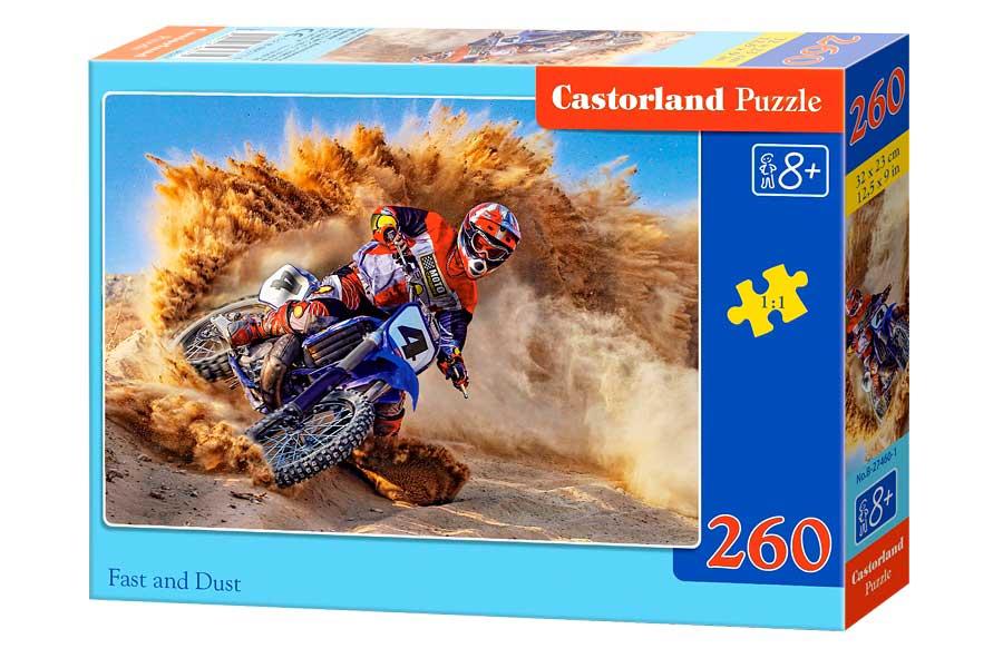 Puzzle Castorland Polvo y Velocidad de 260 Piezas