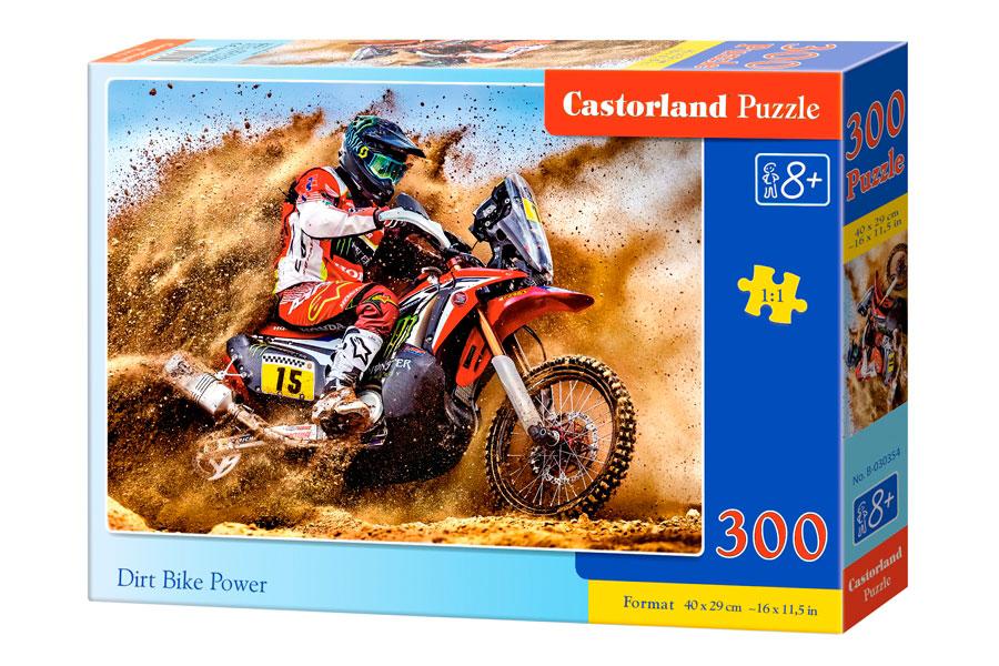 Puzzle Castorland Potencia de Motocicleta de 300 Piezas