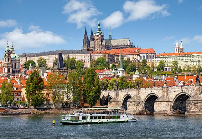 Puzzle Castorland Praga, República Checa de 1000 Piezas