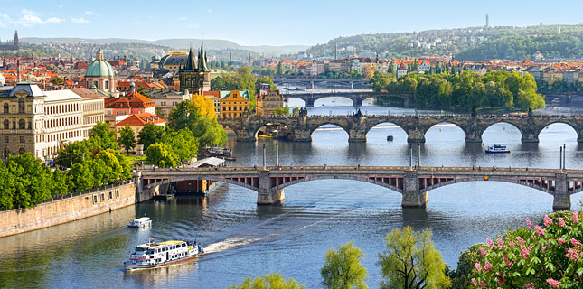 Puzzle Castorland Praga, Vista Panorámica de 4000 Piezas