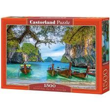Puzzle Castorland  Preciosa Bahía en Tailandia  de 1500 Piezas