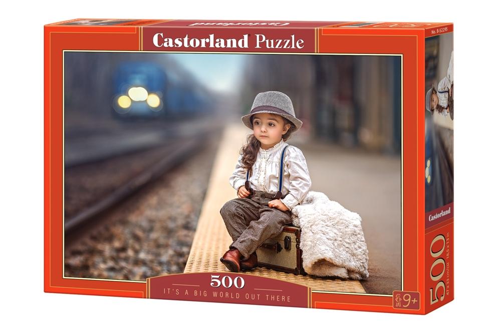 Puzzle Castorland Preparada para Conocer Mundo de 500 Piezas
