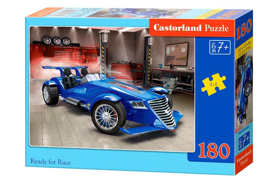 Puzzle Castorland Preparado para Correr de 180 Pzs.