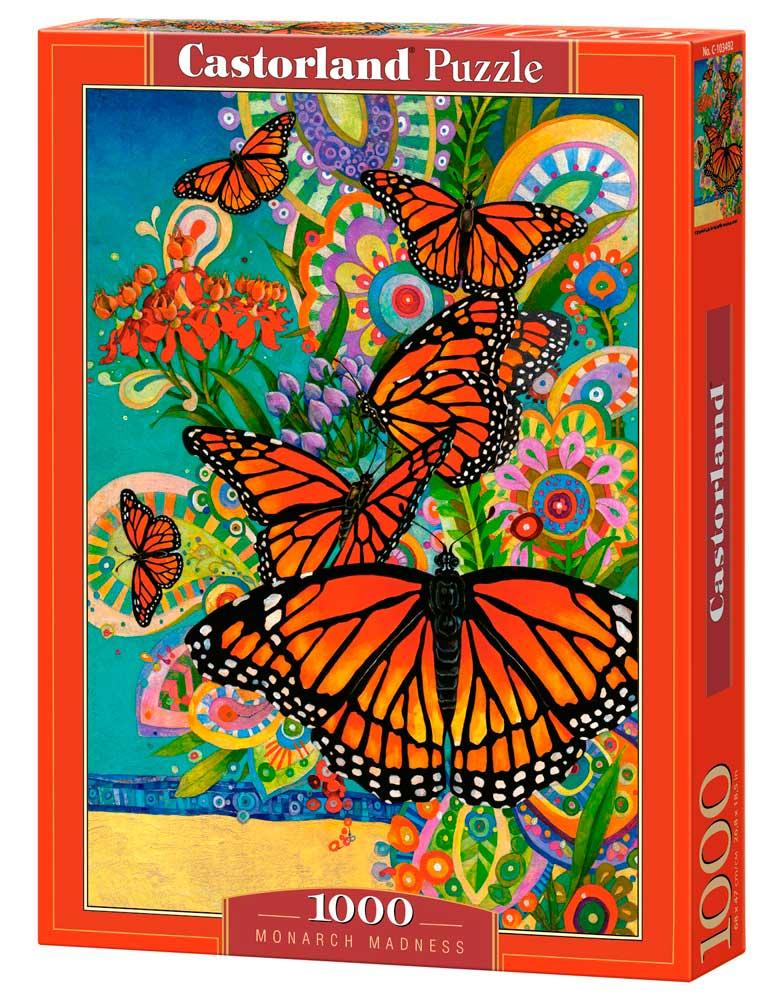 Puzzle Castorland Primavera de Mariposas de 1000 Piezas