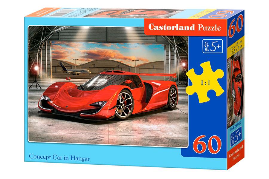 Puzzle Castorland Prototipo en Hangar de 60 Piezas