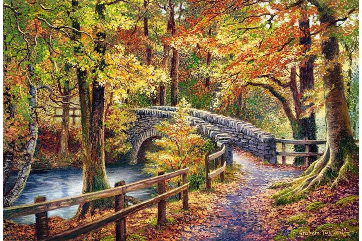 Puzzle Castorland Puente de Brathay de 1000 Piezas