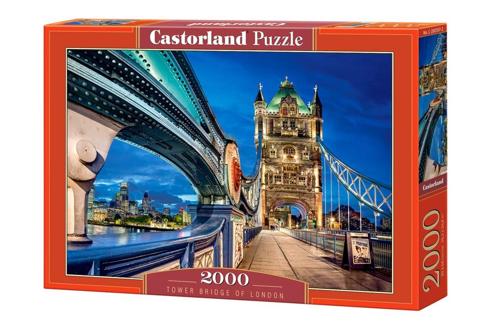 Puzzle Castorland Puente de las Torres de Londres de 2000 Piezas