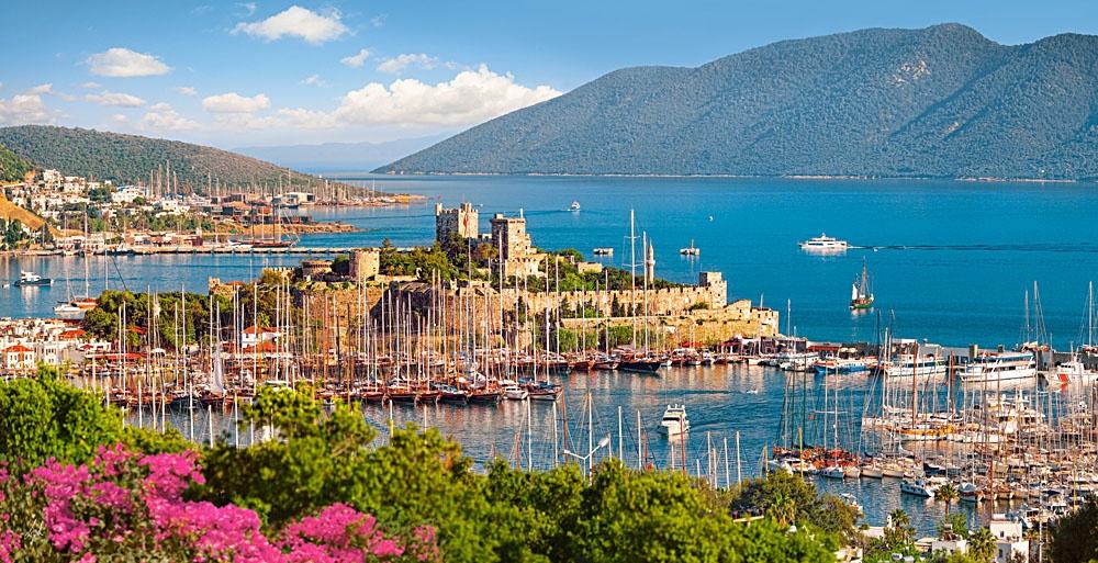 Puzzle Castorland Puerto de Bodrum, Turquía de 4000 Piezas