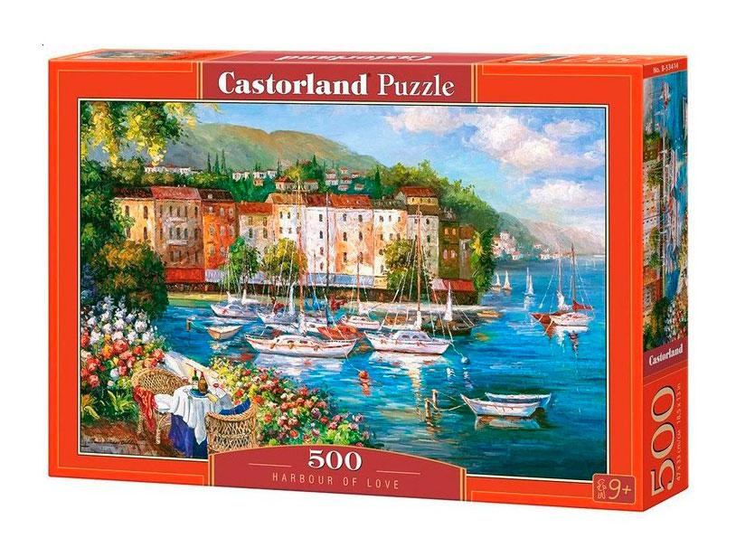 Puzzle Castorland Puerto del Amor de 500 Piezas