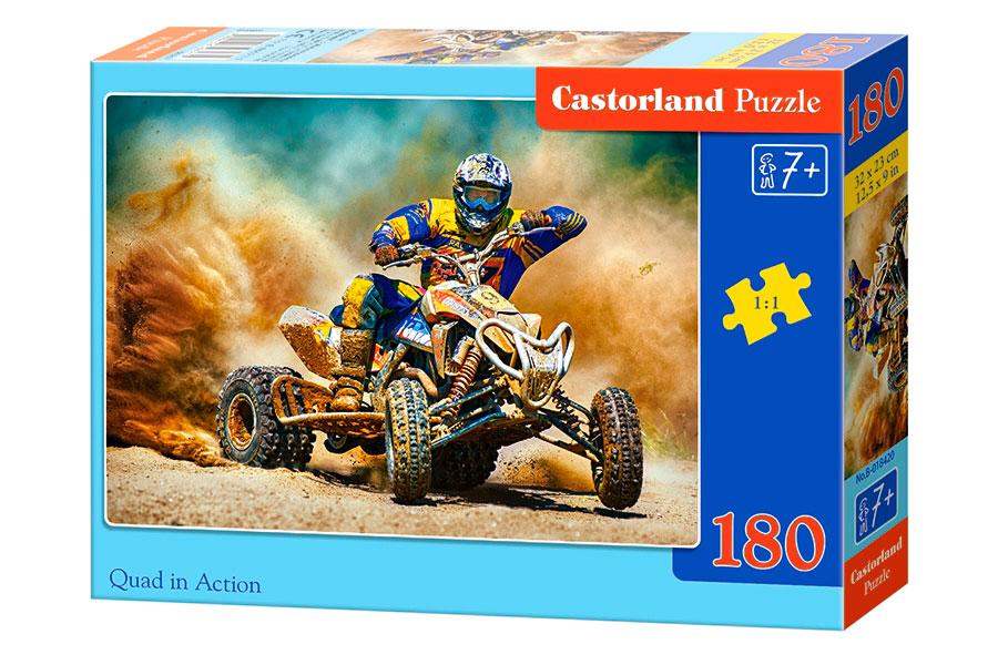 Puzzle Castorland Quad en Acción de 180 Pzs.