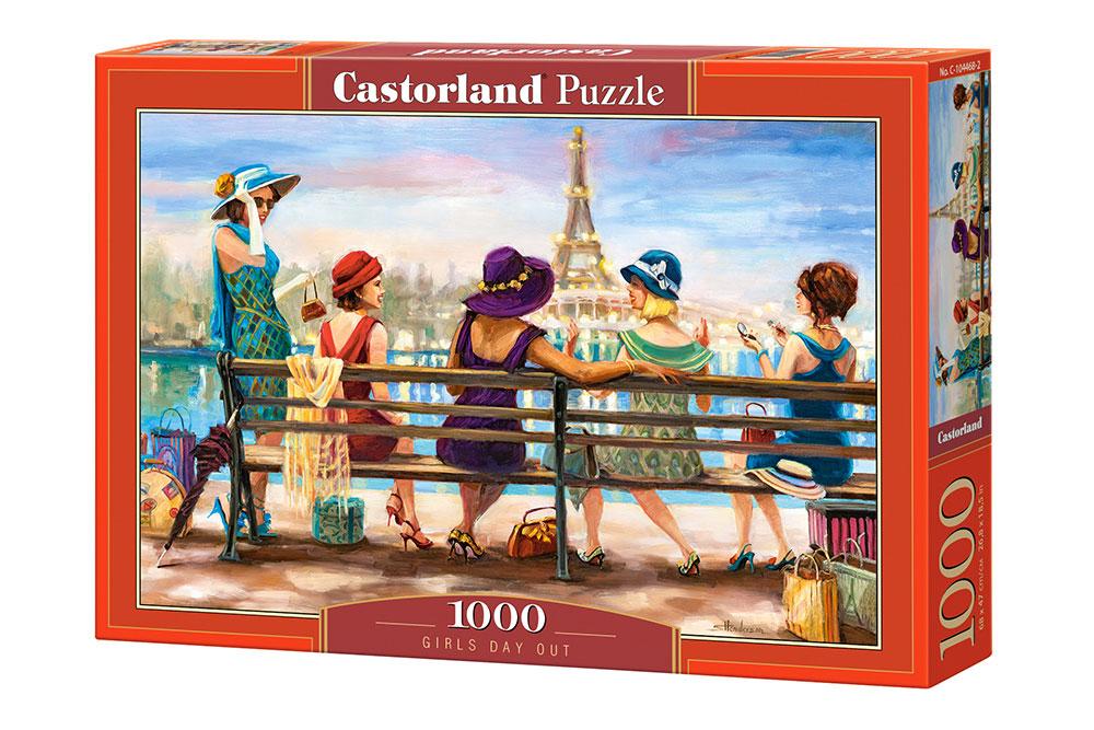 Puzzle Castorland Quedada de Chicas de 1000 Piezas