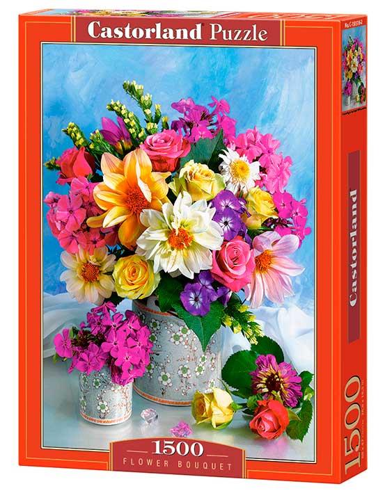 Puzzle Castorland Ramo de Flores 1500 Piezas