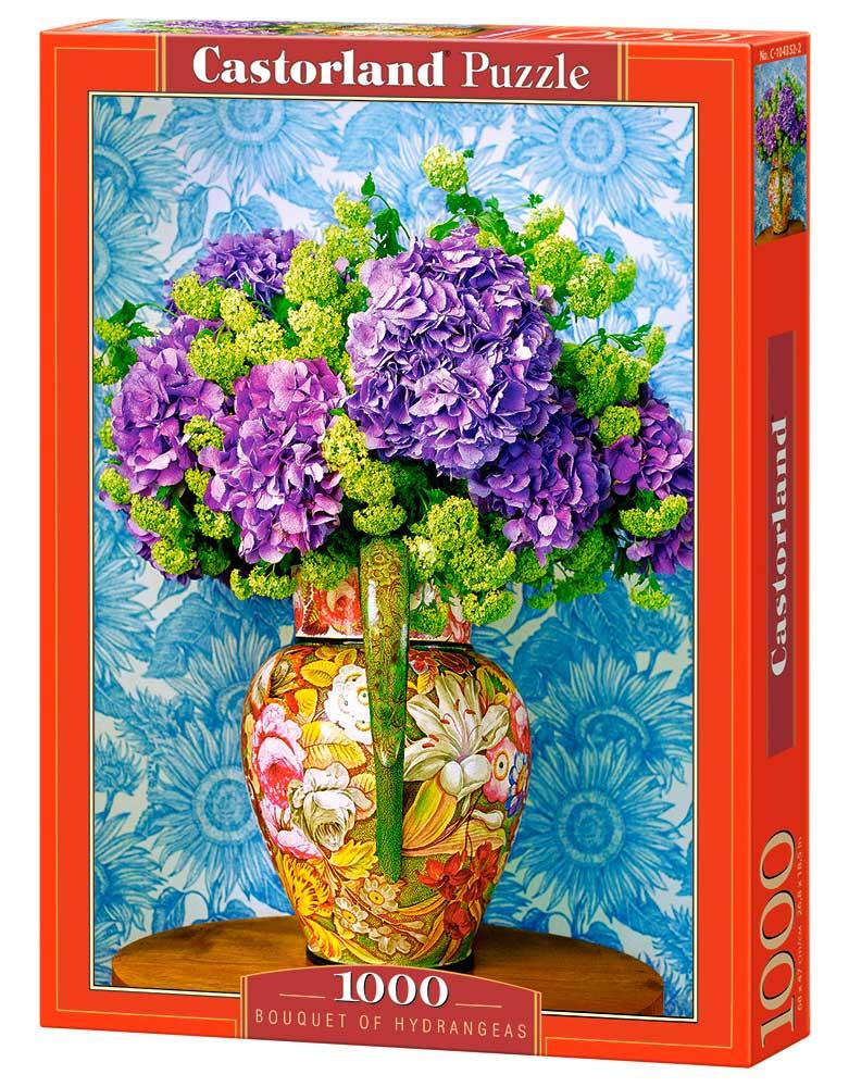 Puzzle Castorland Ramo de Hortensias de 1000 Piezas