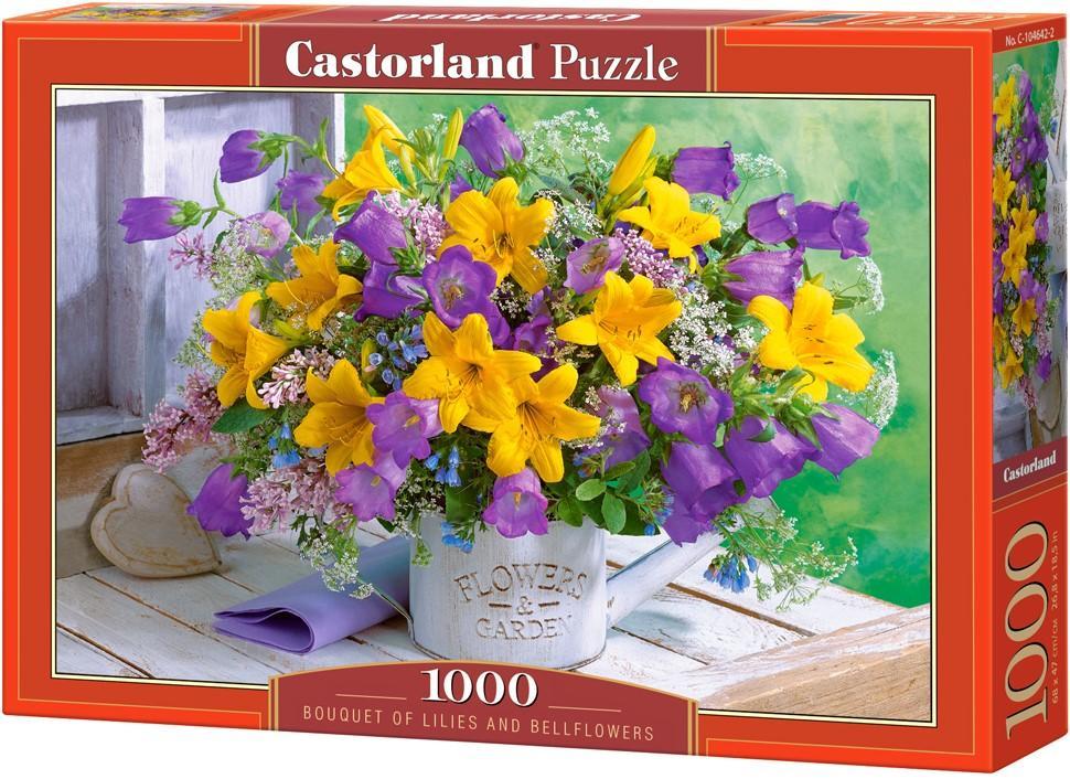 Puzzle Castorland Ramo de Lirios y Campanillas de 1000 Piezas