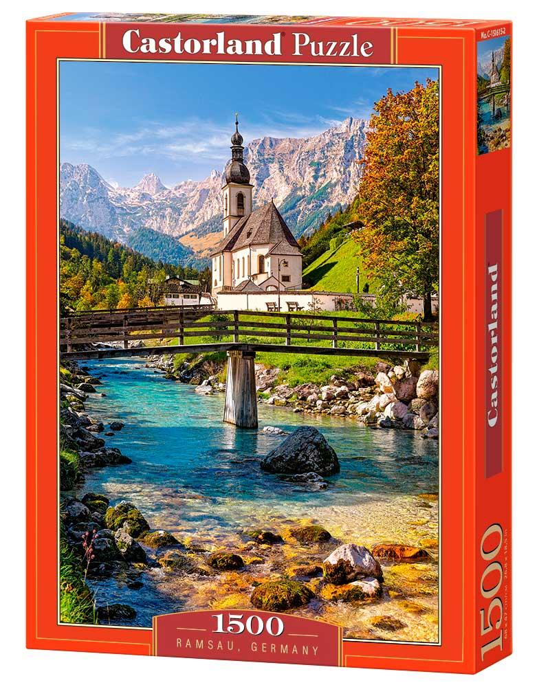 Puzzle Castorland Ramsau, Alemania 1500 Piezas