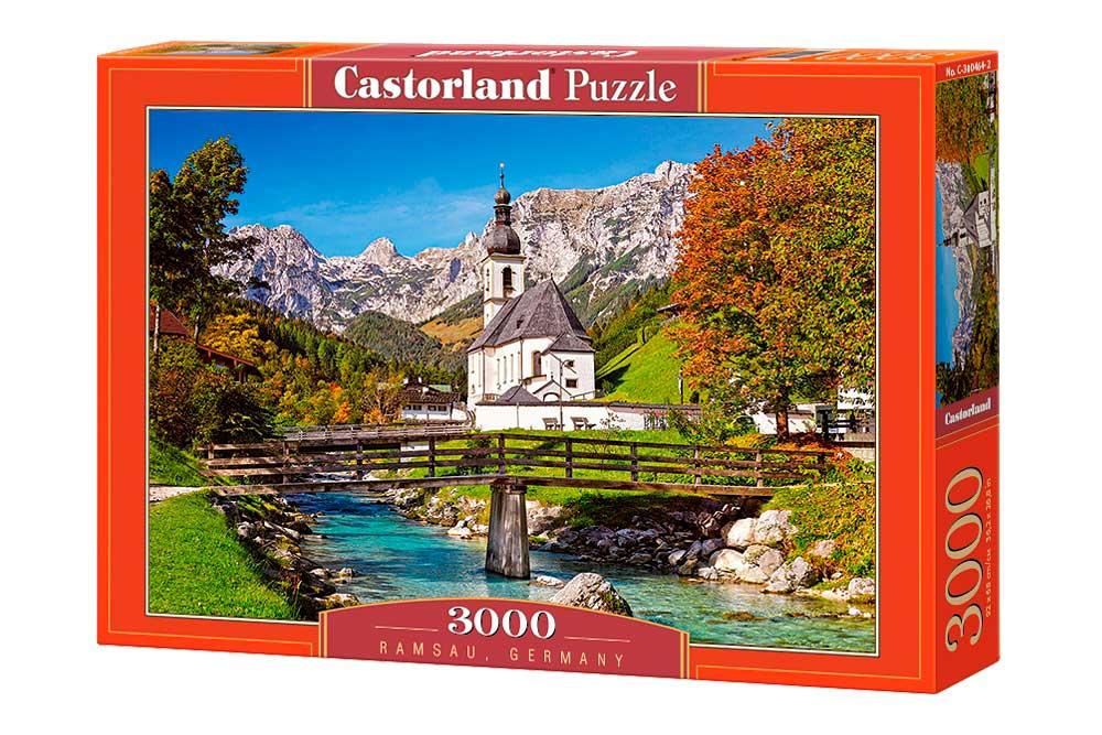 Puzzle Castorland Ramsau, Alemania de 3000 Piezas