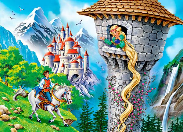 Puzzle Castorland Rapunzel de 260 Piezas