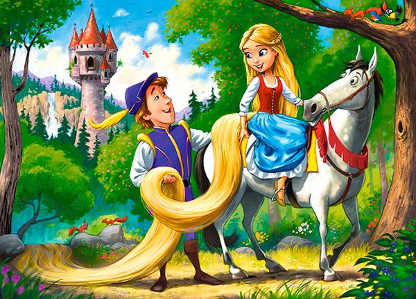 Puzzle Castorland Rapunzel de 60 Piezas