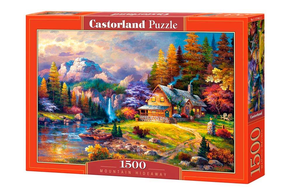 Puzzle Castorland Refugio de Montaña de 1500 Piezas