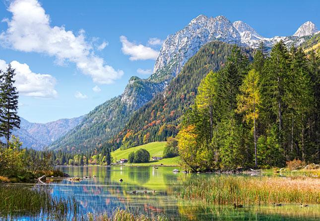 Puzzle Castorland Refugio de Montaña en los Alpes de 3000 Piezas