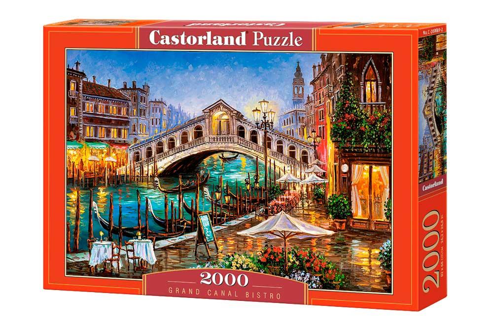 Puzzle Castorland Restaurante del Gran Canal de 2000 Piezas