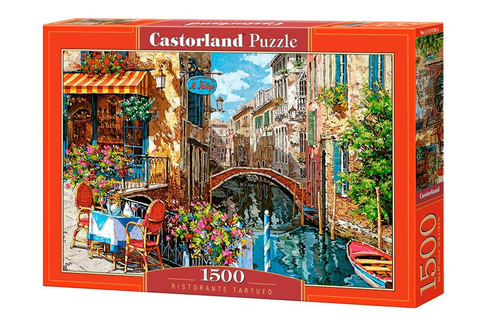 Puzzle Castorland Restaurante Tartufo de 1500 Piezas