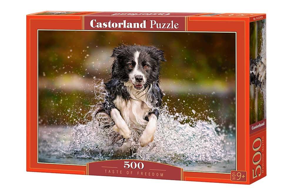 Puzzle Castorland Saborando la Libertad de 500 Piezas