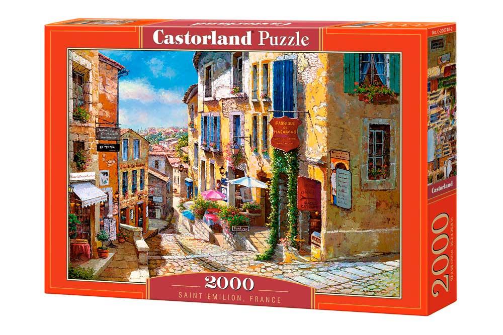 Puzzle Castorland Saint Emilion, Francia de 2000 Piezas