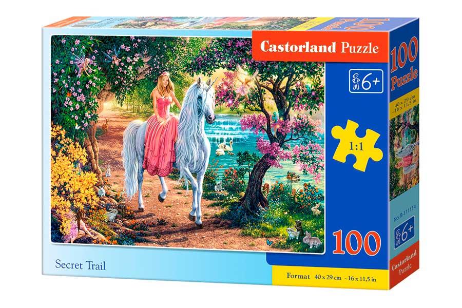 Puzzle Castorland Sendero Secreto de 100 Piezas