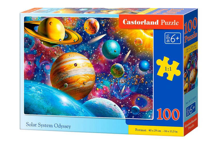 Puzzle Castorland Sistema Solar de 100 Piezas