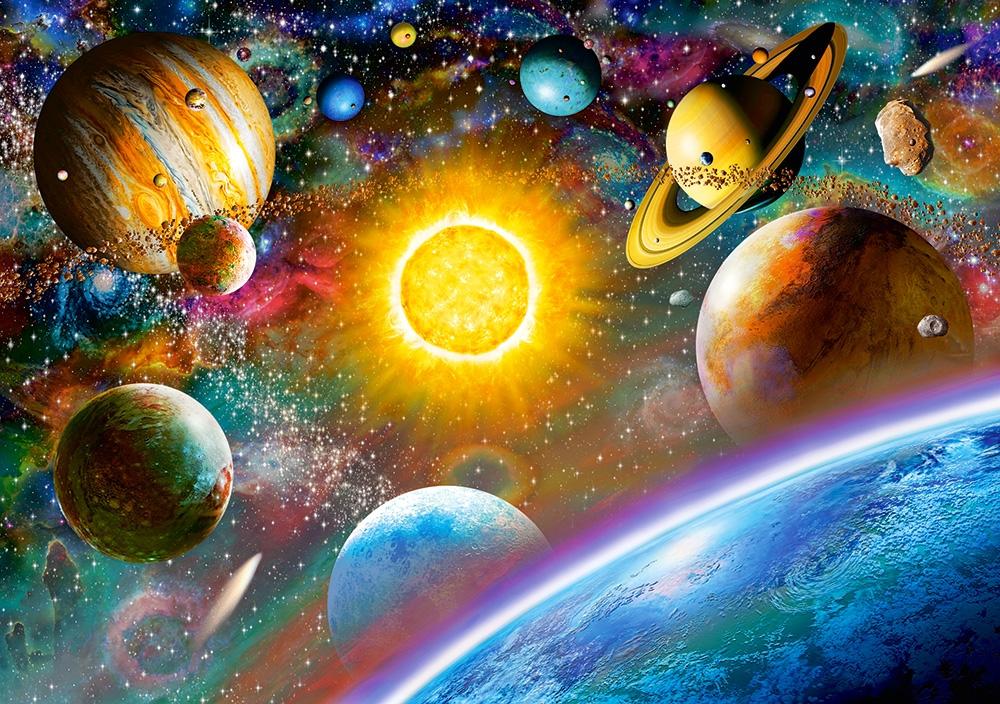 Puzzle Castorland Sistema Solar de 500 Piezas
