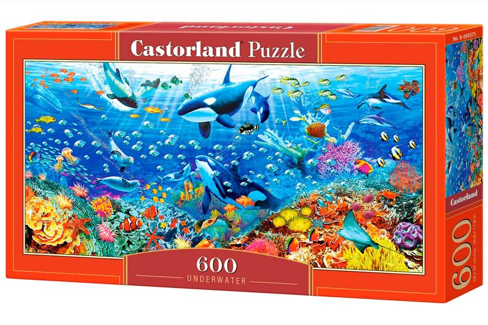 Puzzle Castorland Submarino de 600 Pzs