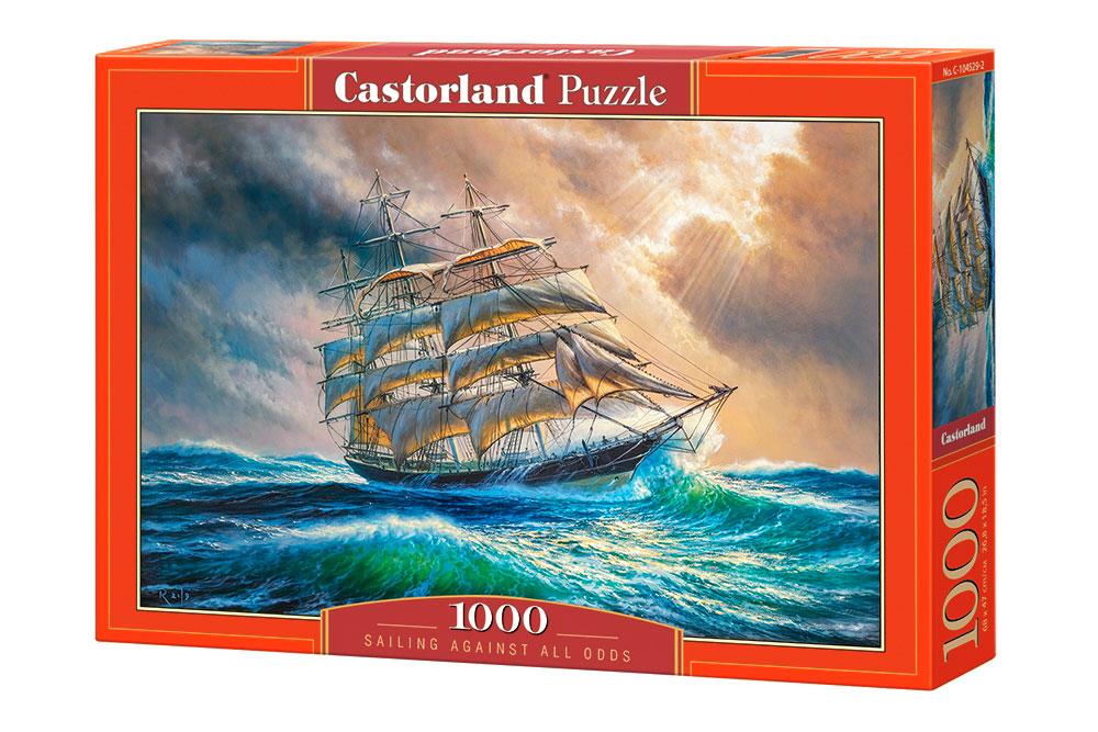 Puzzle Castorland Surcando los Mares de 1000 Piezas