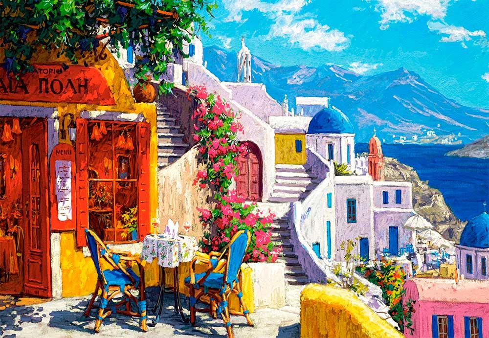 Puzzle Castorland Tarde en el Mar Egeo de 1000 Piezas