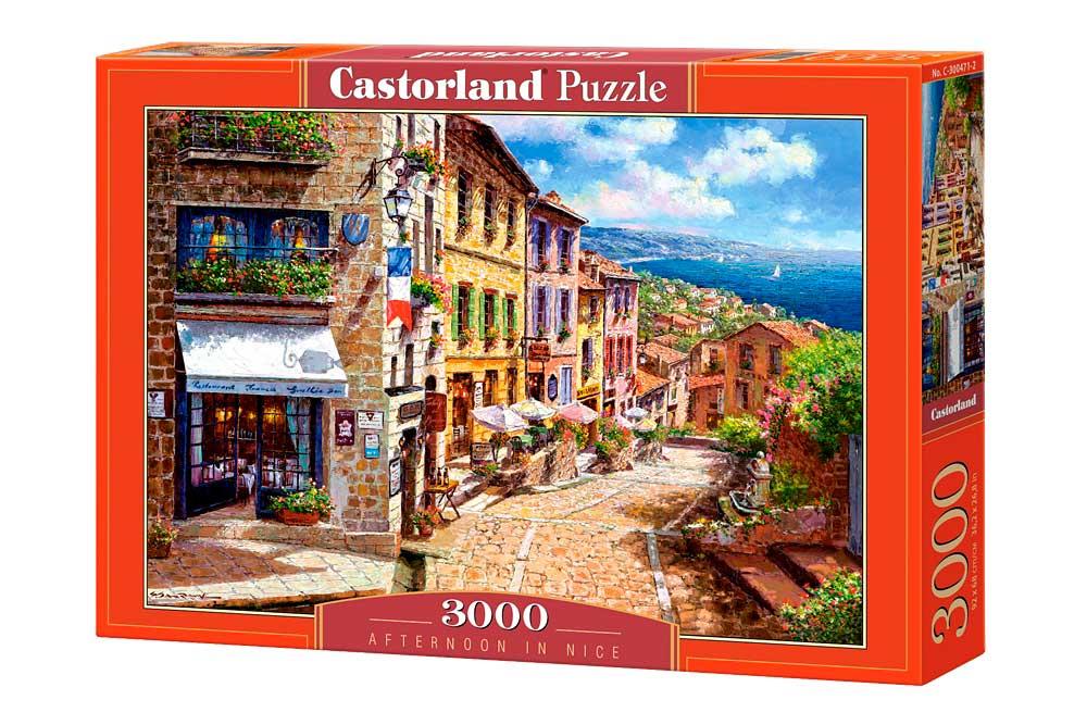 Puzzle Castorland Tarde en Niza de 3000 Piezas