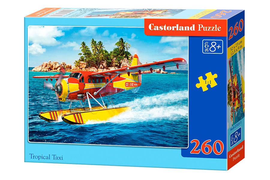 Puzzle Castorland Taxi Tropical 260 Piezas